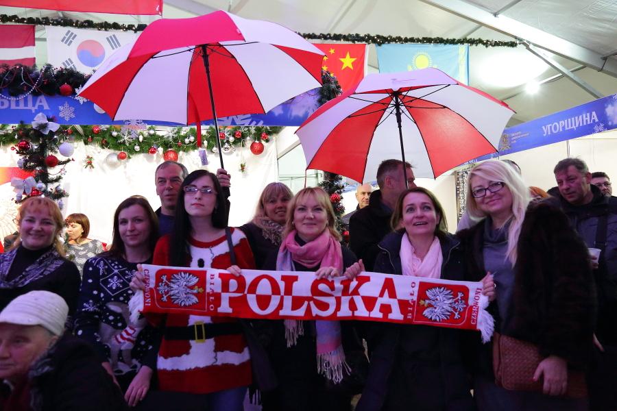 VII Charytatywny Jarmark Bożonarodzeniowy w Odessie
